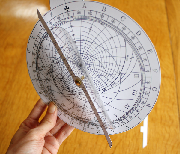 Make Your Own Astrolabe 1 Introduction In The Sky Org