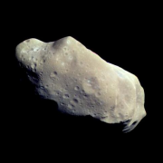 © NASA/Galileo 1993. Pictured asteroid is 243 Ida.