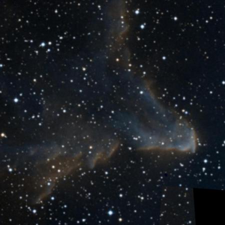 Image of Gamma Cassiopeiae Nebula