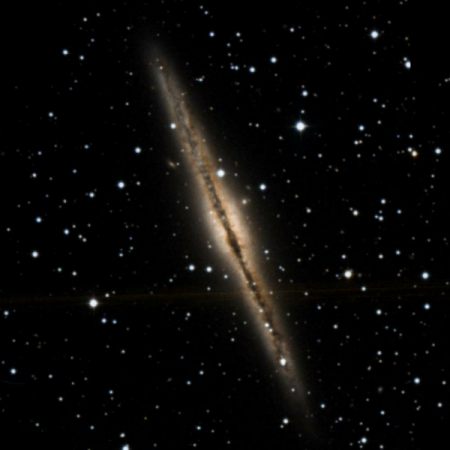 Image of Silver Sliver Galaxy