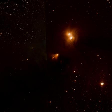 Image of R Corona Australis Nebula