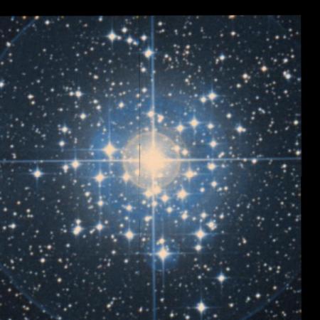 Image of Tau Canis Majoris Cluster