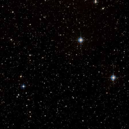 Image of Omicron Canis Minorum Cluster