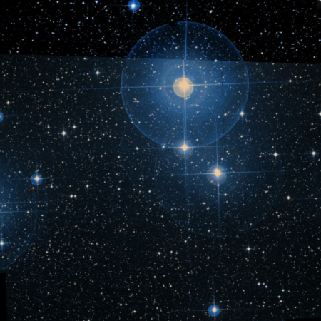 Image of Omicron Velorum Cluster