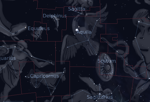 Image result for constellation Aquila images