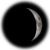 4-day old moon