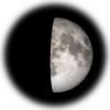 8-day old moon