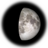 9-day old moon