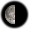 22-day old moon