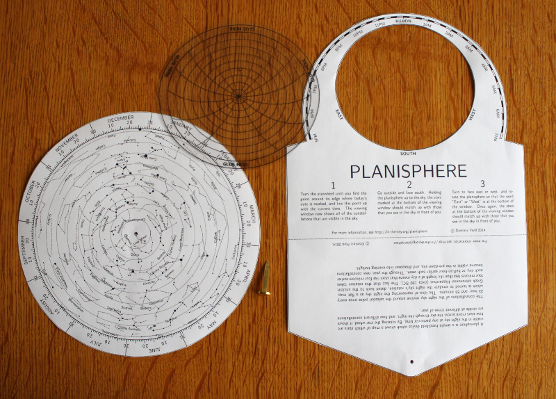 picture relating to Printable Planisphere identified as Generate your personal planisphere -