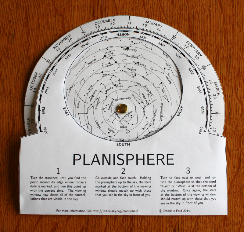 photo regarding Printable Planisphere named Create your particular planisphere -